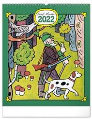 Nástěnný kalendář Josef Lada - Řemesla 2022