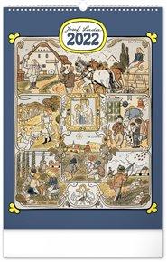 Nástěnný kalendář Josef Lada - Měsíce 2022