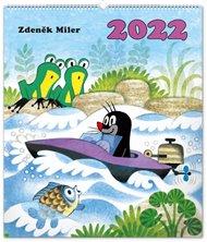 Nástěnný kalendář Krteček 2022