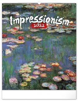 Obálka titulu Nástěnný kalendář Impresionismus 2022, 48 x 56 cm
