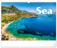 Nástěnný kalendář Moře 2022