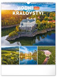 Nástěnný kalendář Vodní království 2022 - České přehrady