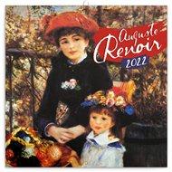 Poznámkový kalendář Auguste Renoir 2022