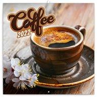 Poznámkový kalendář Káva 2022, voňavý