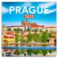 Poznámkový kalendář Prague 2022
