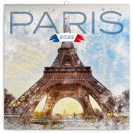 Poznámkový kalendář Paříž 2022
