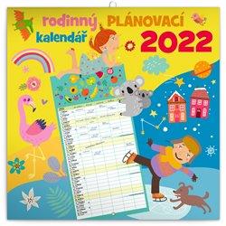 Rodinný plánovací kalendář 2022