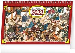 Obálka titulu Stolní kalendář Josef Lada - Na vsi 2022