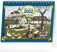 Stolní kalendář Josef Lada - Děti 2022