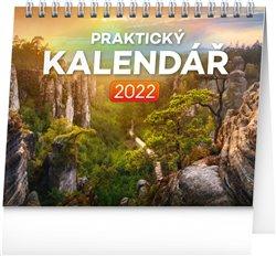 Obálka titulu Stolní kalendář Praktický kalendář 2022, 16,5 x 13 cm