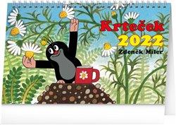 Obálka titulu Stolní kalendář Krteček 2022