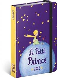 Týdenní diář Malý princ - Planeta 2022, 11 x 16 cm