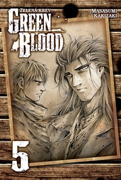 Obálka titulu Green Blood - Zelená krev 5