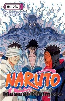 Obálka titulu Naruto 51: Sasuke proti Danzóovi