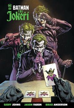 Obálka titulu Batman - Tři Jokeři