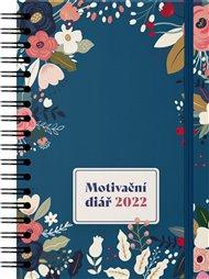 Motivační diář kroužkový A5 2022