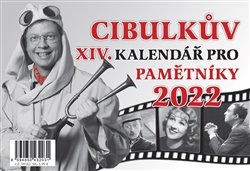 Obálka titulu Cibulkův kalendář pro pamětníky 2022