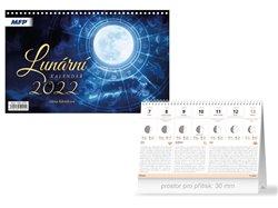 Kalendář 2022 stolní Lunární