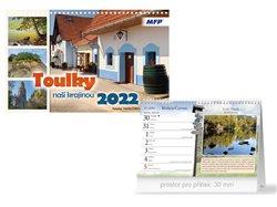 Kalendář 2022 stolní Toulky naší krajinou