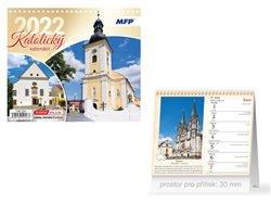 Kalendář 2022 stolní mini Katolický