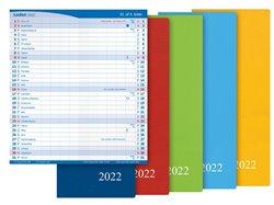 Diář 2022 M101/PVC měsíční color