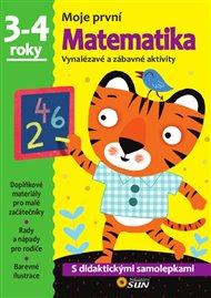 Moje pvní Matematika 3-4 ROKY samolepky