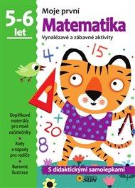 Moje první matematika 5-6 ROKY samolepky