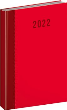 Denní diář Cambio Classic 2022, červený