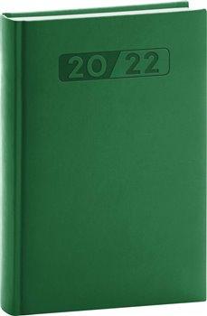 Denní diář Aprint 2022, zelený