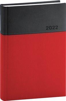Denní diář Dado 2022, červenočerný