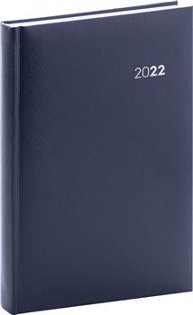 Denní diář Balacron 2022, tmavě modrý
