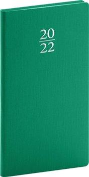 Kapesní diář Capys 2022, zelený