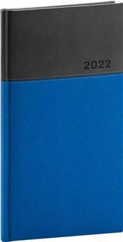 Kapesní diář Dado 2022, modročerný
