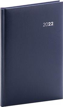 Týdenní diář Balacron 2022, tmavě modrý