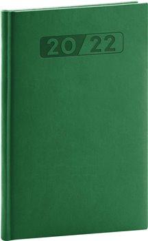 Týdenní diář Aprint 2022, zelený