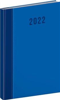 Týdenní diář Cambio Classic 2022, modrý