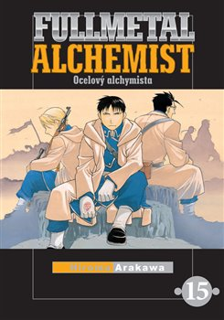 Obálka titulu Fullmetal Alchemist - Ocelový alchymista 15