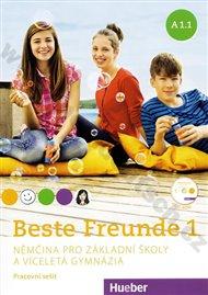 Beste Freunde A1.1: Němčina pro základní školy a víceletá gymnázia (pracovní sešit) + CD