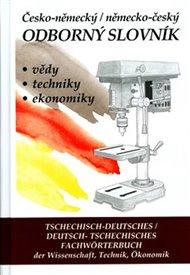 Česko-německý, německo-český odborný slovník + CD