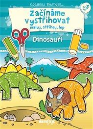 Začínáme vystřihovat - Dinosauři