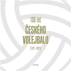 Obálka titulu 100 let českého volejbalu - 1921–2021