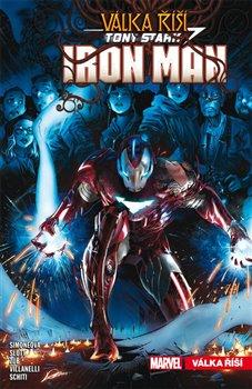 Obálka titulu Tony Stark - Iron Man 3: Válka říší