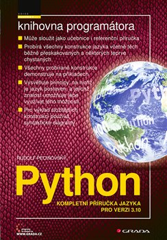 Obálka titulu Python - Kompletní příručka jazyka pro verzi 3.10