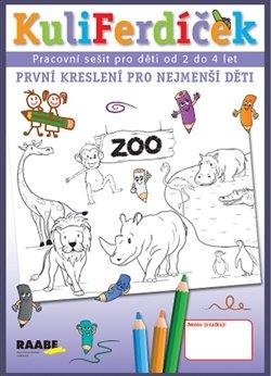 Obálka titulu KuliFerdíček - První kreslení pro nejmenší děti