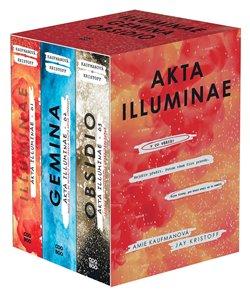 Obálka titulu Akta Illuminae - box