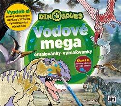 Vodové mega omalovánky, vymaľovanky - Dinosaurs