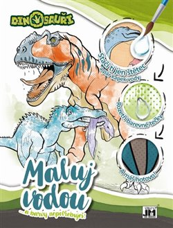 Maluj vodou - Dinosauři