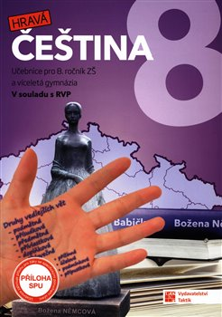 Hravá čeština 8 – učebnice