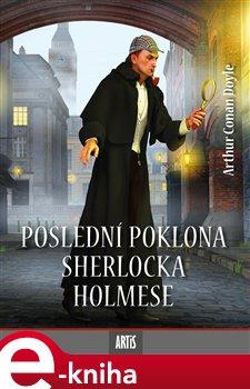 Obálka titulu Poslední poklona Sherlocka Holmese