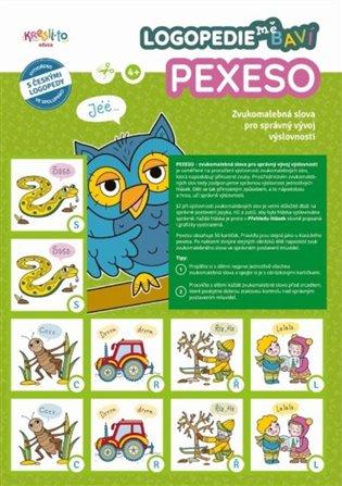 Logopedie mě baví - pexeso – zvukomalebná slova